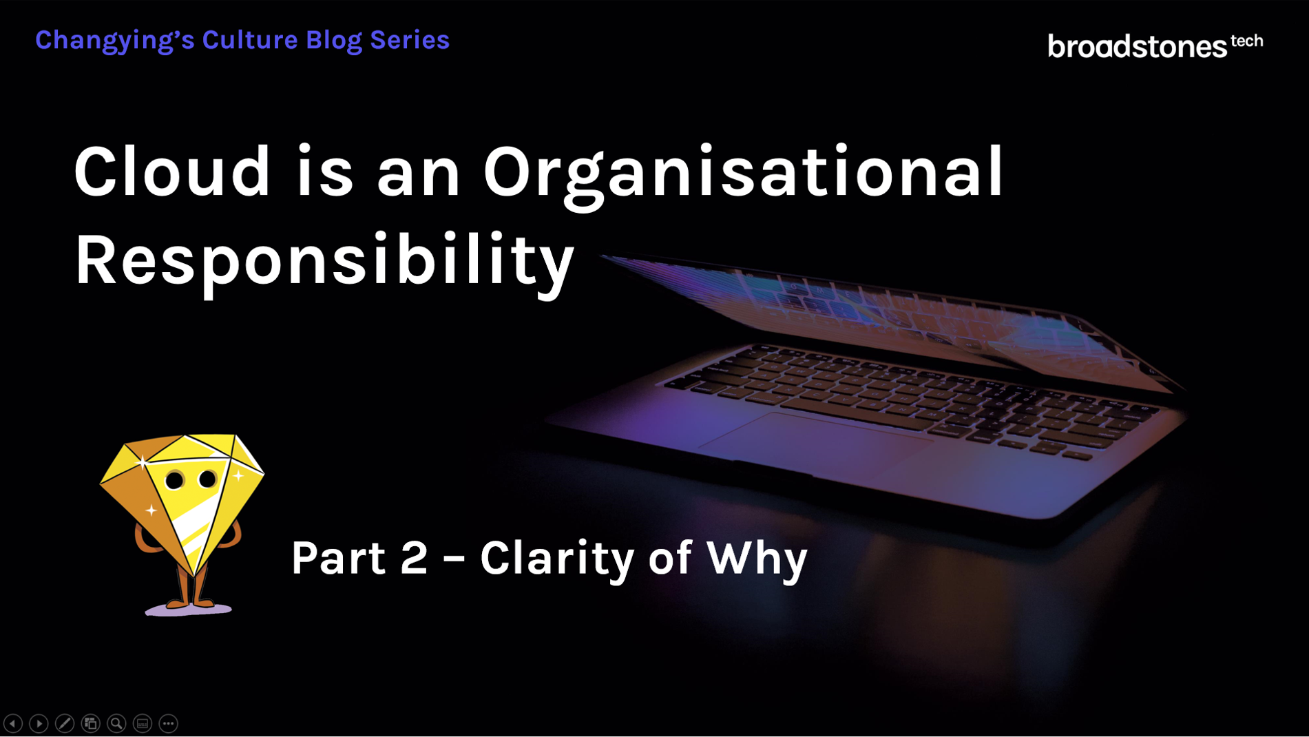 Part 2 Cloud is an Organisational Responibilty - Clarity of Why